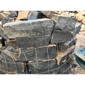 Bazalt falazó kő, roppantott